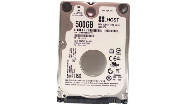 500GB Hitachi HGST HTS545050B7E660 6,35cm(2,5) SATA Festplatte