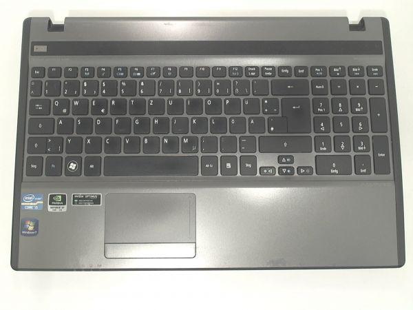 Tastatur für Acer Aspire 5755G-2454G50Mtks Notebook Keyboard inkl. Topcase DE (deutsch) LXRVB0203514