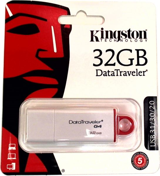 USB Stick 3.0 Kingston 32GB USB 3.0 DTI-G4