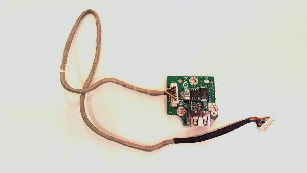 USB Board Platine Karte Notebook Buchse für Dell Inspiron 1720 DAGM2TB18D1 - gebraucht Artikel -