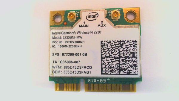 Wireless Adapter Notebook WLAN Modul Sony Vaio SVE14 - SVE14AA11M 2230BNHMW gebraucht Artikel -