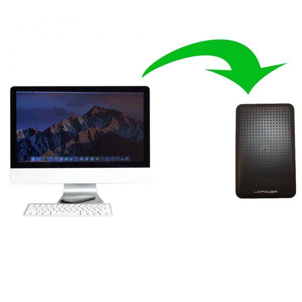 Datensicherung auf ein anderes Medium für iMac