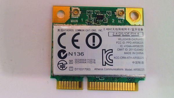 Wireless Adapter Notebook WLAN Modul Toshiba Satellite L850-1VR Atheros AR5B255 gebraucht Artikel -