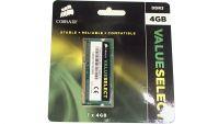 4GB Corsair SO-DIMM DDR3 1600MHz 1.50V Speicher CMSO4GX3M1A1600C11