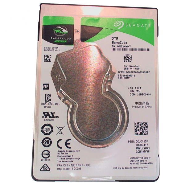 2TB Seagate ST2000LM015 6,35cm(2,5) 5400 SATA Festplatte