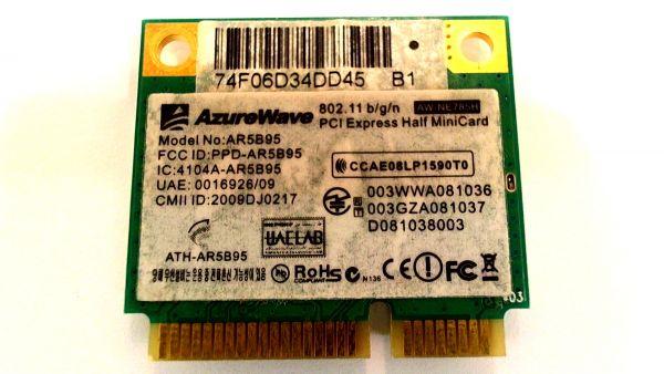 Wireless Adapter Notebook WLAN Modul Asus X72DR-TY012V AzureWave AR5B95 - gebraucht Artikel -