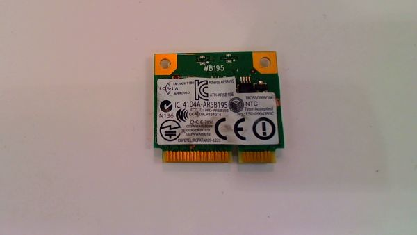 Wireless Adapter Notebook WLAN Modul Dell Vostro 3550 Atheros AR5B195 – gebraucht Artikel -
