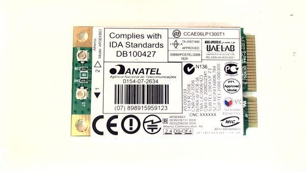 Wireless Adapter Notebook WLAN Modul Compaq Presario CQ60-100EG CCAE06LP1300T1