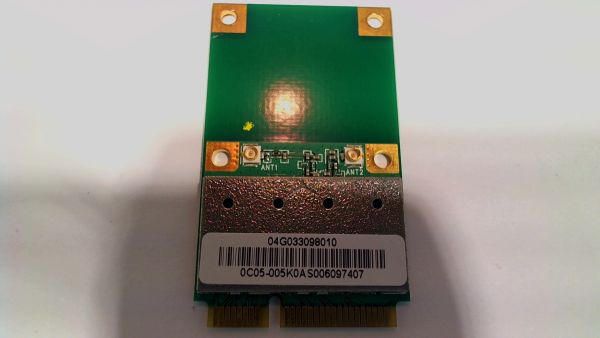 Wireless Adapter Notebook WLAN Modul Asus X70AE AzureWave AR5B95 - gebraucht Artikel -