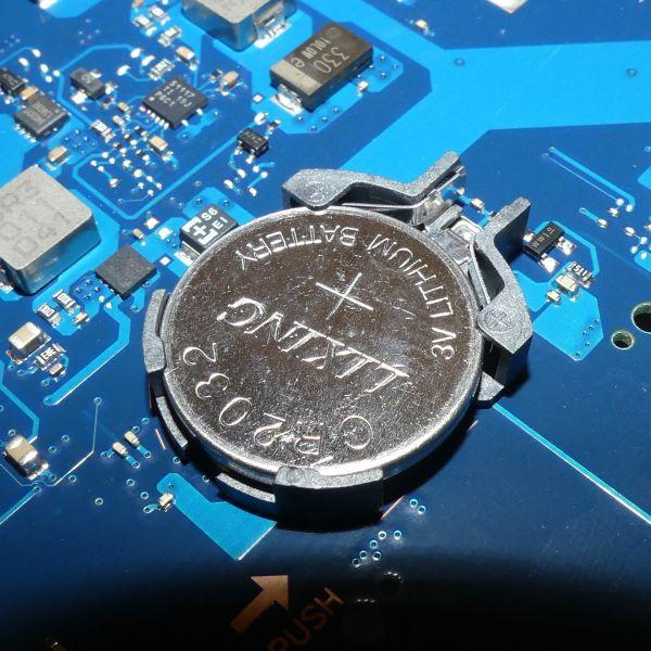 BIOS-Batteriewechsel (Notebook)