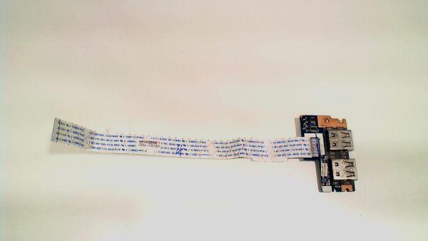 USB Board Platine Karte Notebook Buchse für Acer Aspire 5742 LS-5891P 3MO46 - gebraucht Artikel -