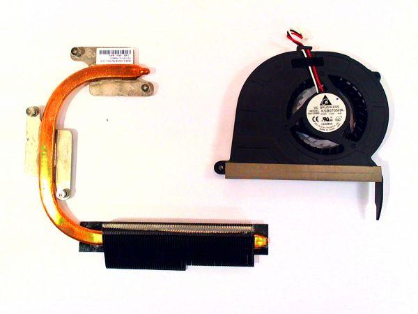 CPU Kühler für Samsung NP-RV515-S05DE KSB0705HA Notebook Lüfter FAN