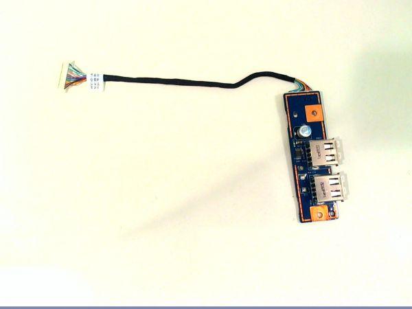 USB Board Platine Karte Notebook Buchse für Acer Aspire 7535G 48.4CD02.011