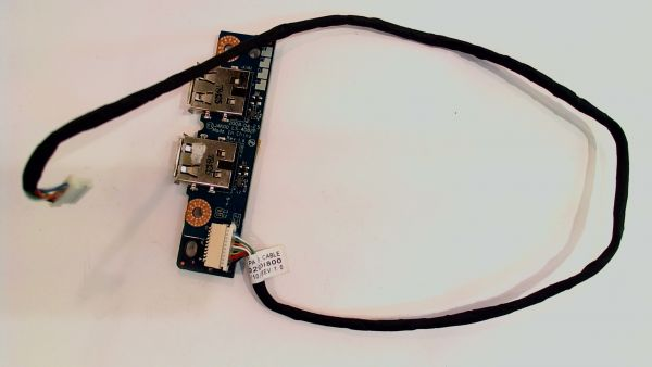 USB Board Platine Karte Notebook Buchse für HP Pavilion dv7 DC02000I800 - gebraucht Artikel -