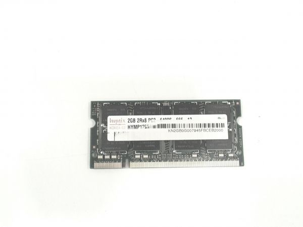 2048MB hynix DDR2 PC2-6400S-666-12 SO-Dimm Arbeitsspeicher Acer Aspire 7540 HYMP125S64CP8-S6