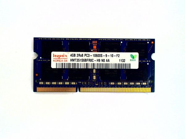 4GB SK hynix DDR3 Arbeitsspeicher HMT351S6BFR8C-H9 NO AA SO-DIMM