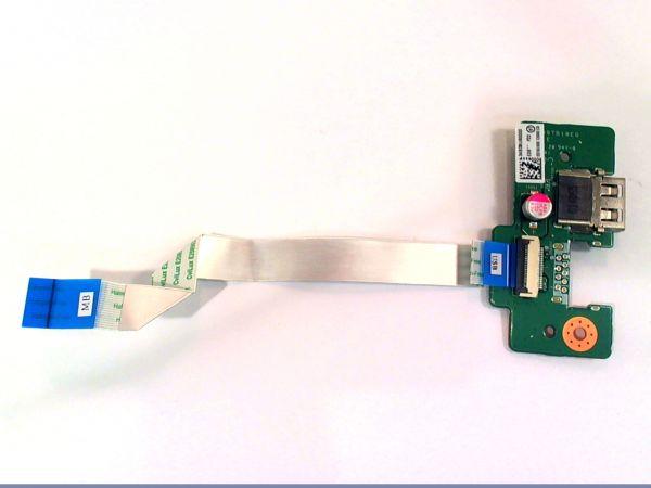 USB Board Platine Karte Notebook Buchse für Toshiba Satellite C70D DABD9TB18E0 - gebraucht Artikel -