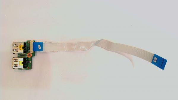 USB Board Platine Karte Notebook Buchse für Compaq Presario CQ71 340p6ub0000 – gebraucht Artikel -