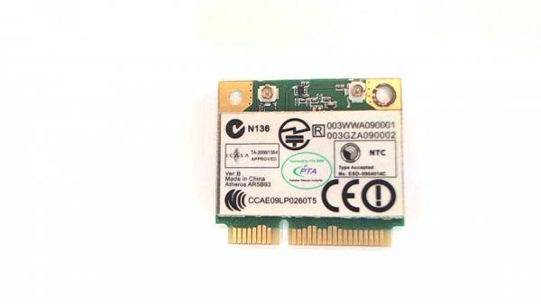Wireless Adapter Notebook WLAN Modul für Packard Bell LJ71 Atheros AR5B93 - gebraucht Artikel -