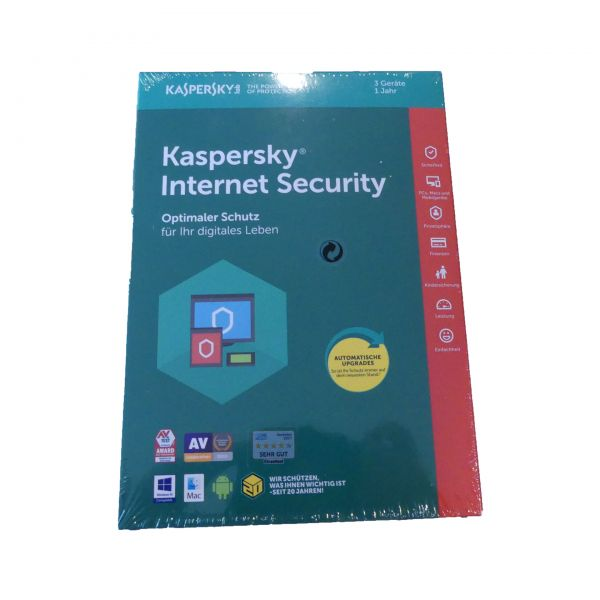 Kaspersky Internet Security 3 User Box