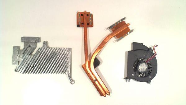 CPU Kühler für Sony VAIO VGN-FZ21E UDQFRPR62CF0 Notebook Lüfter FAN