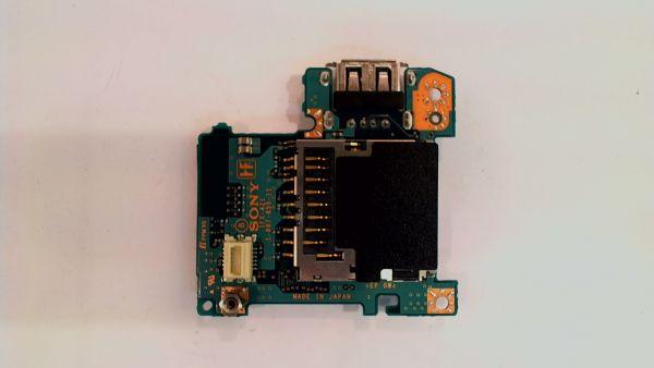 USB Board Platine Karte Notebook Buchse für Sony PCG-4F1M VGN-TX1XP 1-867-855 - gebraucht Artikel -