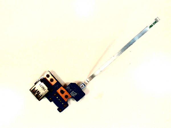 USB Board Platine Karte Notebook Buchse für Toshiba Satellite C850-1CE - gebraucht Artikel -