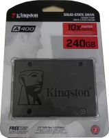 Kingston HDSSD A400 240GB 6,4cm(2,5)SATA III SSD SA400S37/240G
