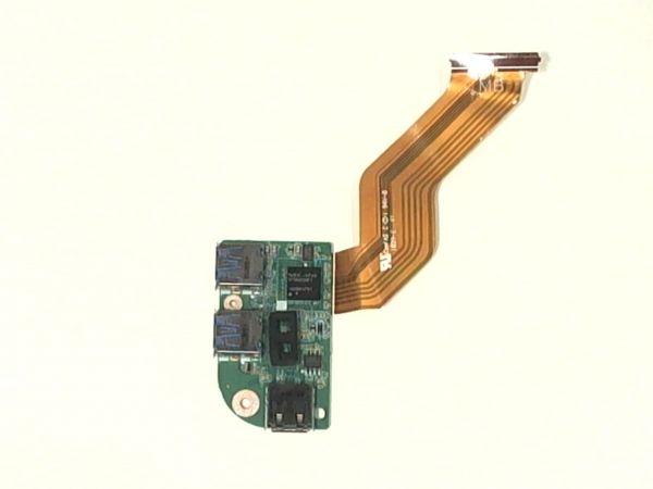 USB Board Platine Karte Notebook Buchse für Dell XPS L701X 0861CJ - gebraucht Artikel -